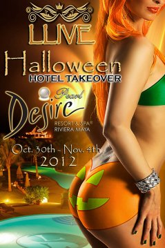 Halloween Hotel Takeover