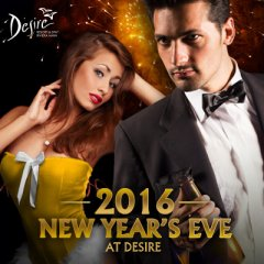 New Year's 2016 at Desire