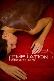 Warm Mud Massage at Temptation Resort Spa