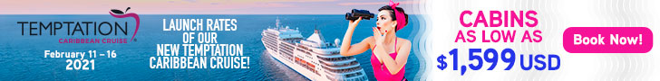 Temptation cruise 2021