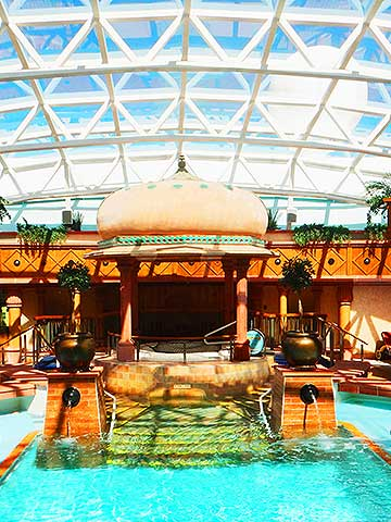 Solarium onboard Brilliance of the Seas