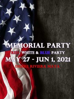 Memorial Party - Red, White, and Blue