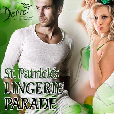 St Patrick's Lingerie Parade