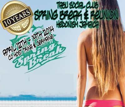 Tabu Social Club Spring Break Reunion