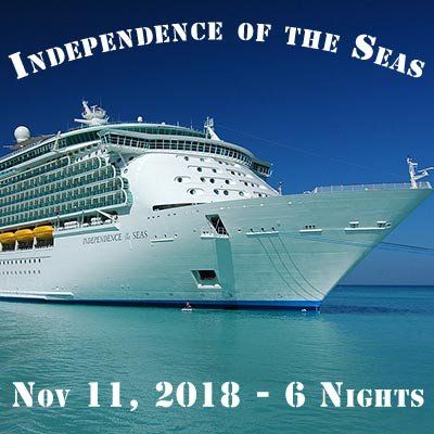 Independence of the Seas 2018 Caribbean Cruise at Desire Pearl Puerto Morelos