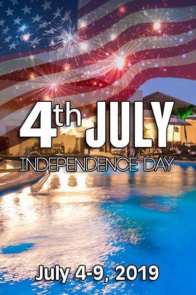 4th of July at Desire at Desire Resort Riviera Maya