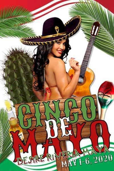 Sexy Cinco De Mayo at Desire Resort Riviera Maya