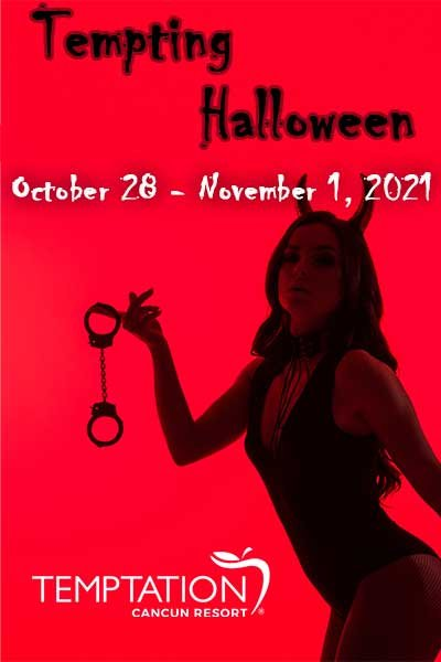 Tempting Halloween at Desire Resort Riviera Maya
