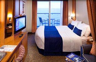 Spacious Oceanview Balcony
