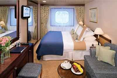 Club Oceanview Stateroom - 8 - Obstructed
