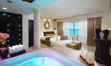 Ocean Front Passion Suite In-Room Jacuzzi at Desire Resort