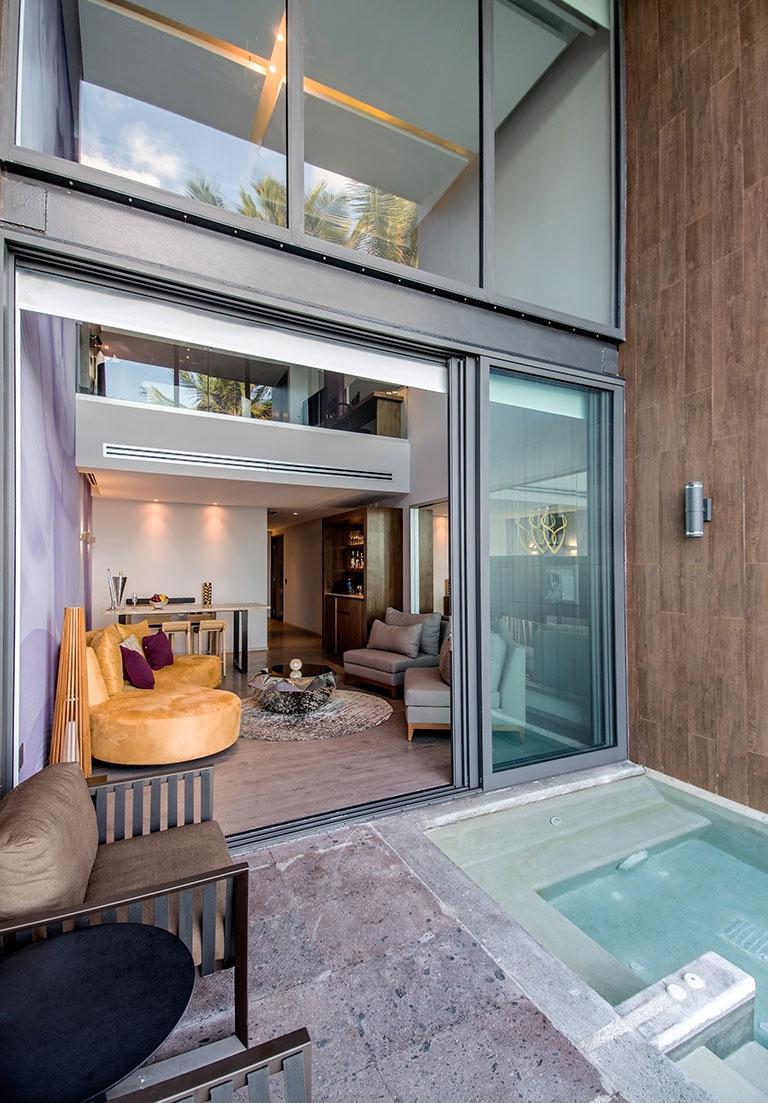 Ocean Front View of Desire Suite at Desire Resort