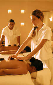 Hot Stone Massage at Desire Resort Pearl Spa