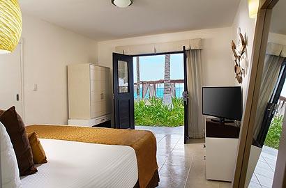 Deluxe Oceanview Room at Desire Resort Spa Riviera Maya
