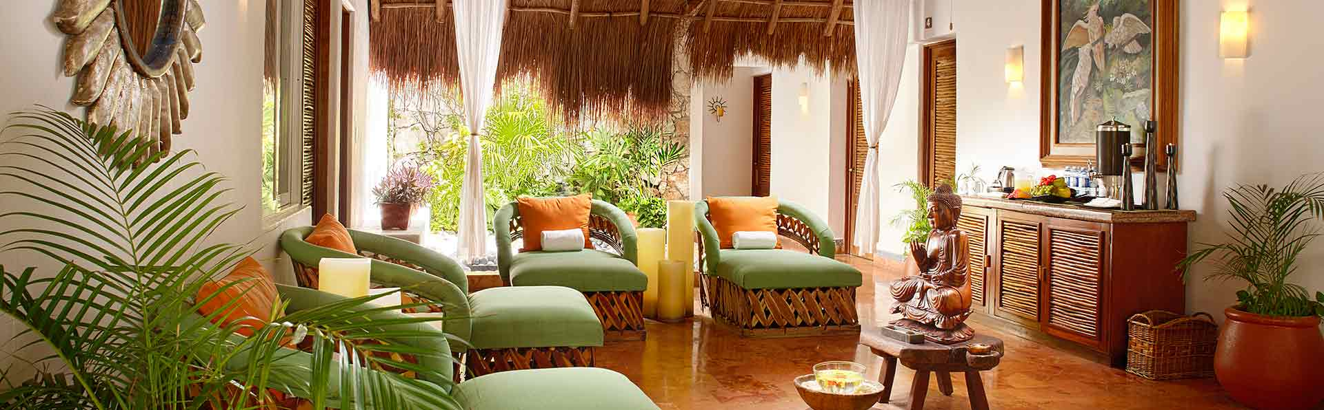 Spa Relazation Area at Desire Pearl Puerto Morelos