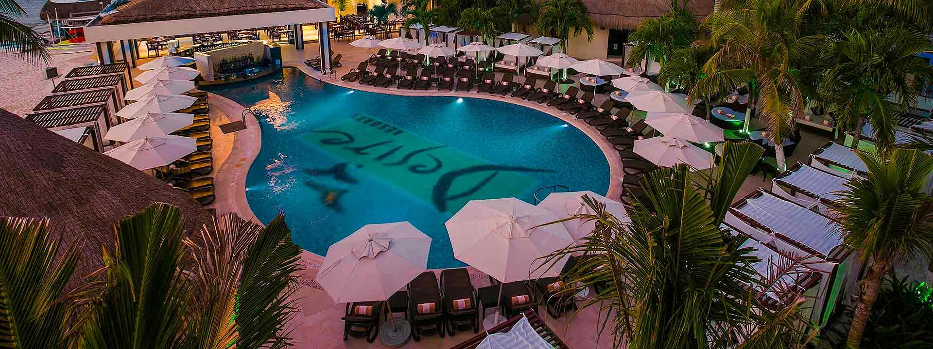 Desire Resort Riviera Maya Pool