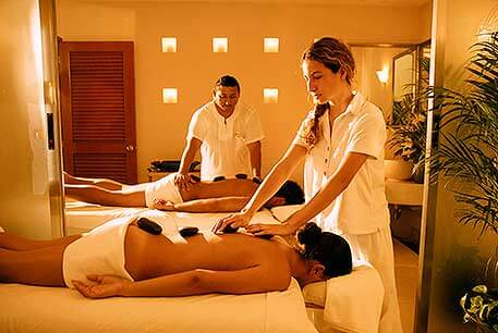 Couples Massage at Exotic Spa