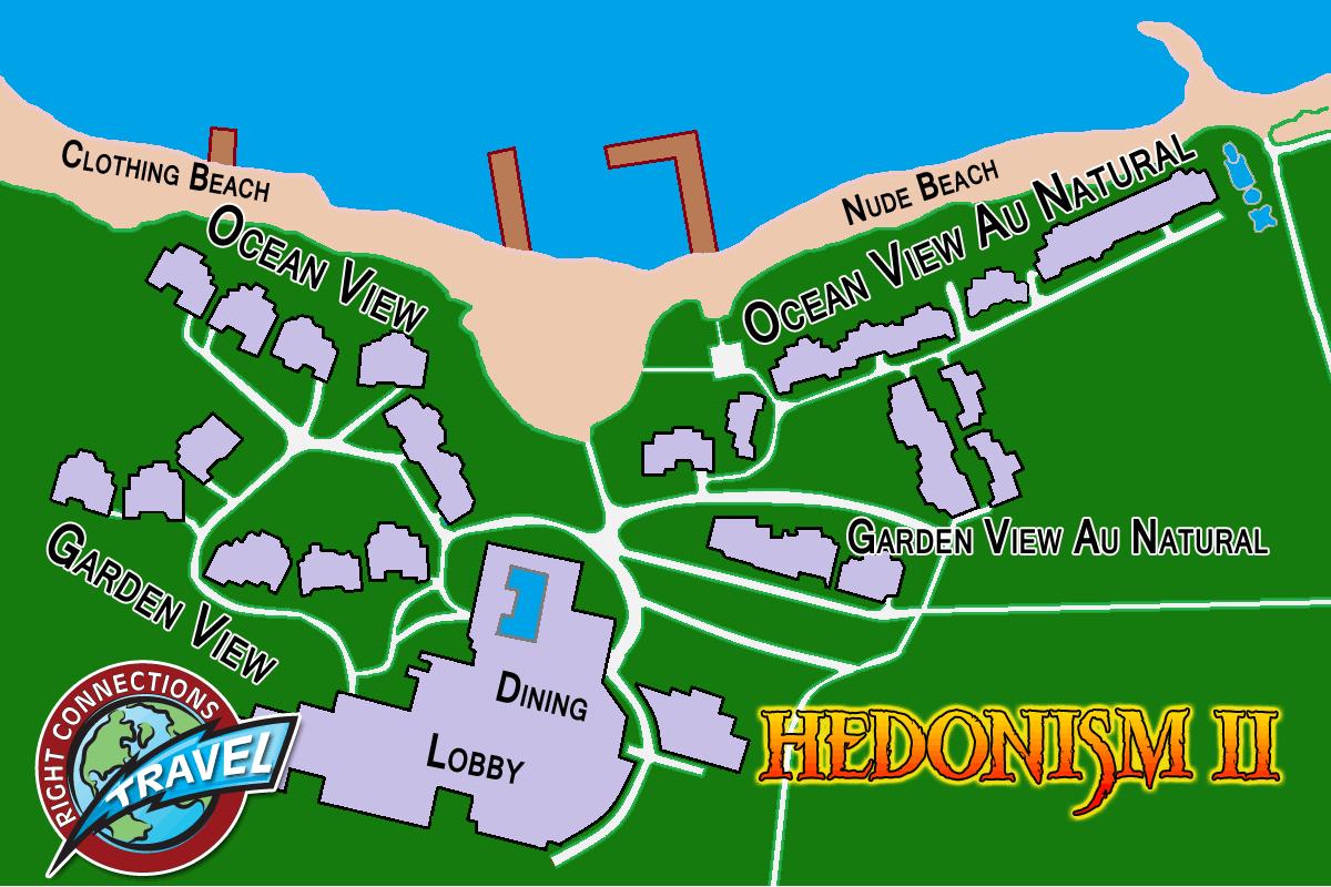 hedonism resort map - HD1200×800