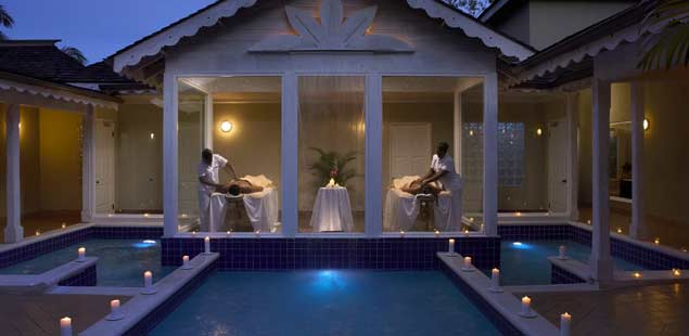 Relax and unwind at the Blue Mahoe Spa