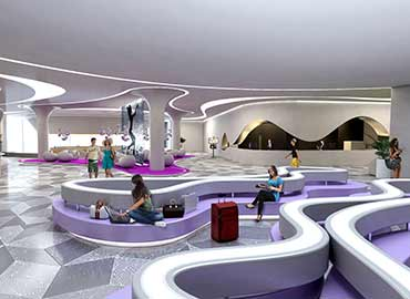 Lobby Concept for Temptation Cancun