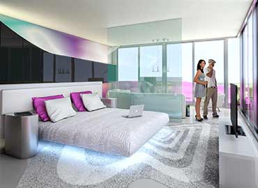 Temptation Oceanfront Master Suite concept artwork