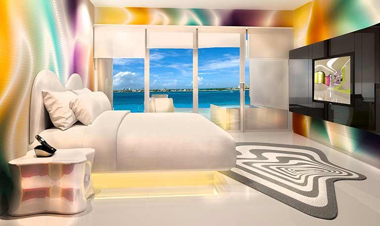 Plush Jacuzzi Ocean View Room
