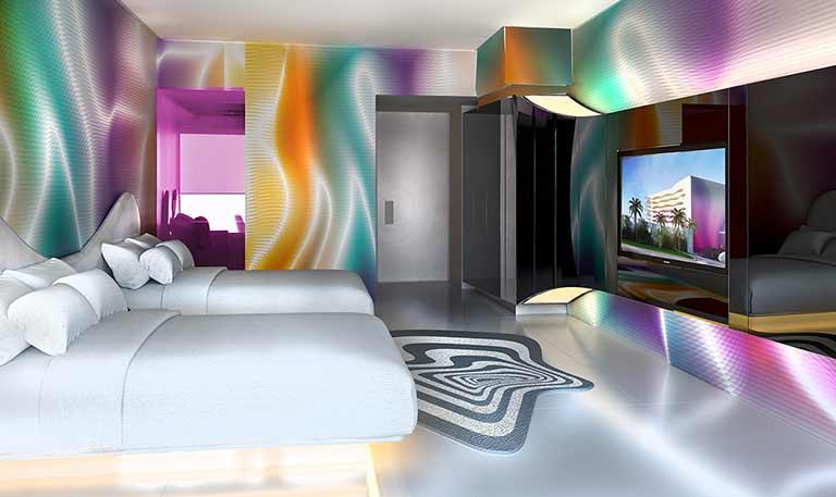 Trendy Ocean View Room